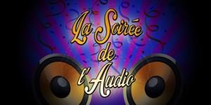 La Soirée de l'Audio Logo Invitation